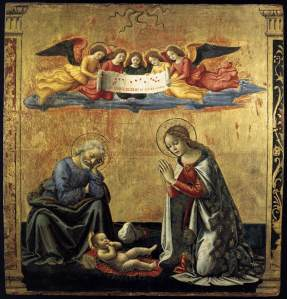 The Nativity - Domenico Ghirlandaio, c.1492