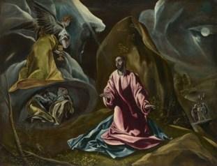 Agony in the Garden by El Greco