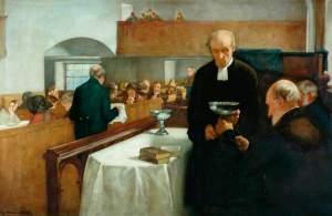 A Scottish Sacrament, by Henry John Dobson
