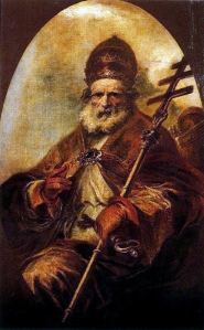 Saint Leo Magnus by Francisco Herrera the Younger, in the Prado Museum, Madrid