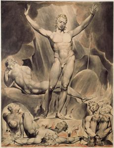 """Lucifer"" by William Blake from John Milton's ""Paradise Lost"""