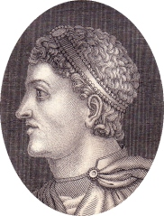 Emperor Theodosius I made Christianity Rome's only legal religion in AD 380.